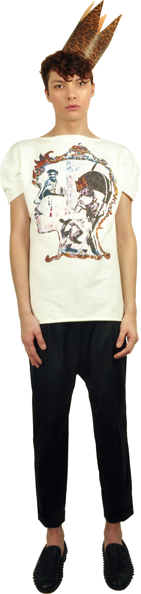 "Princely T-Shirt ""The Little Prince"" in Milk"