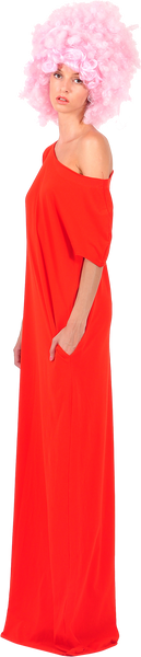 Princely maxi dress in Poppy Red