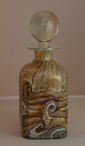 A Unique Gozo Glass Stone Decanter