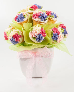 Beautifully Decorated Cupcake Bouquet