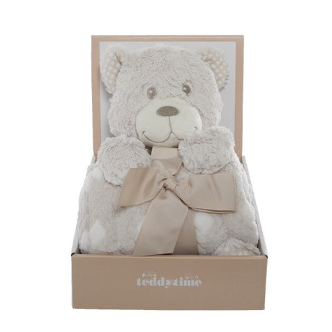 Tilly Teddy Bear Gift Pack with Blanket
