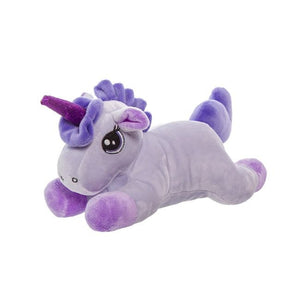 Ellie Unicorn Plush Toy Purple