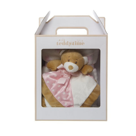Teddy Bear Security Toy & Blanket