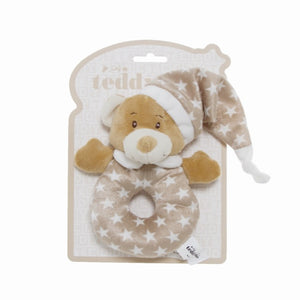 Teddy Bear Ring Rattle