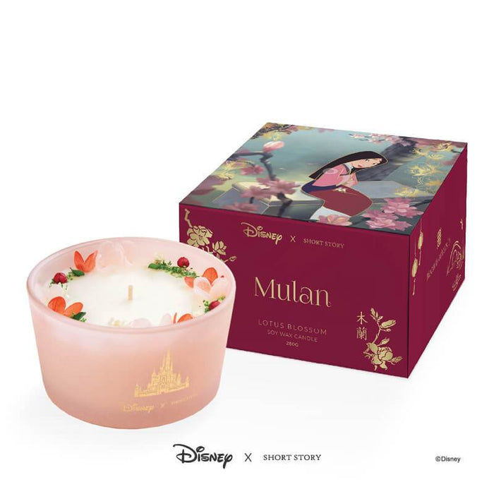 DISNEY CANDLE MULAN
