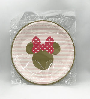 Plates - Minnie Mouse
