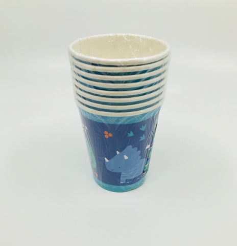 Paper Cups - Dinosaur