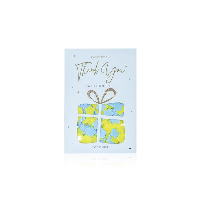 BATH CONFETTI CARD THANK YOU