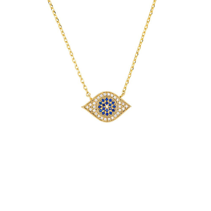 NECKLACE THIRD EYE GOLD