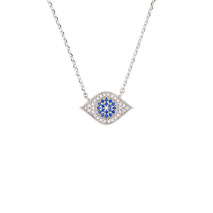 NECKLACE THIRD EYE SILVER