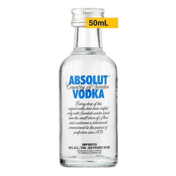 Mini Absolut Vodka