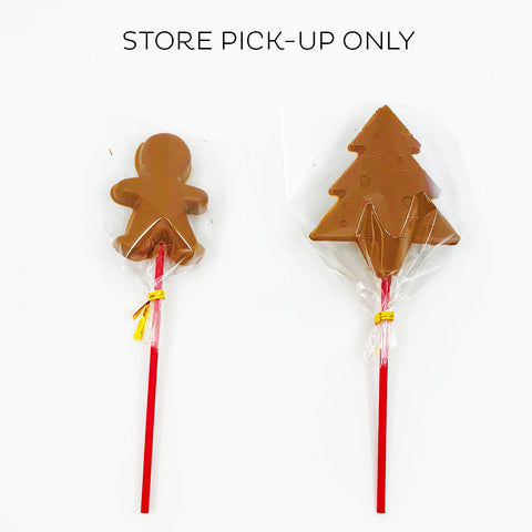 Christmas Chocolate Pops