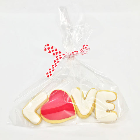 Valentine's LOVE Cookies