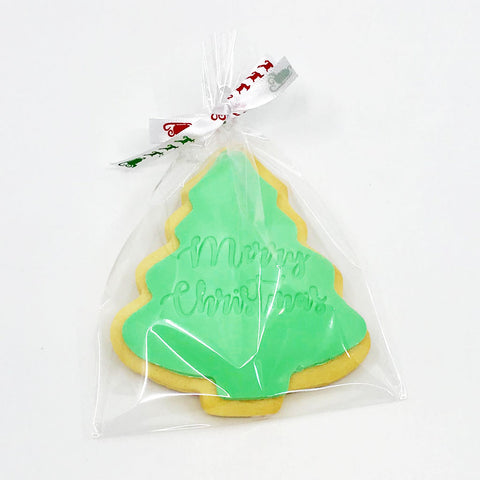 Christmas Tree Cookie - Large