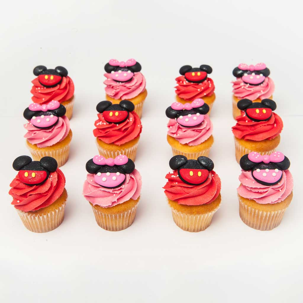 Outstanding Mickey And Minnie Mouse The Cupcake Room Funny Birthday Cards Online Alyptdamsfinfo