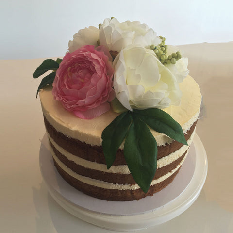 Floral Layered Cake