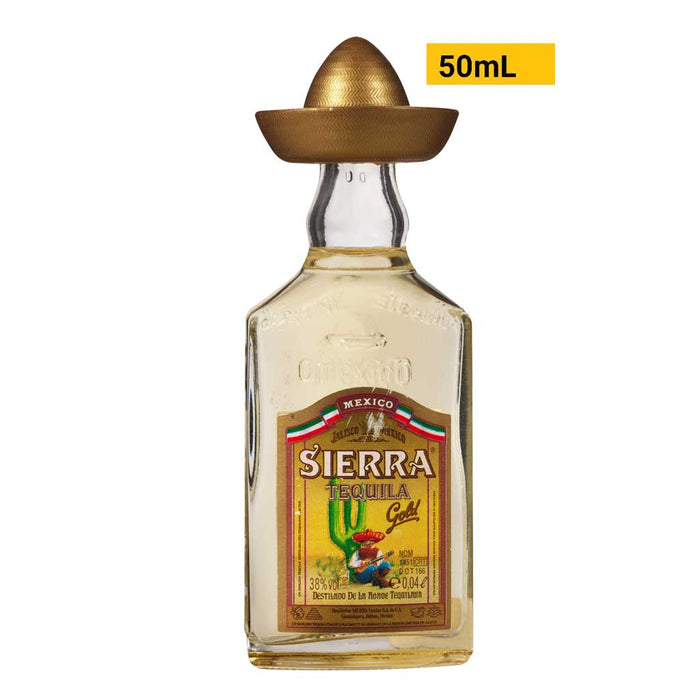 Mini Sierra Gold Tequila
