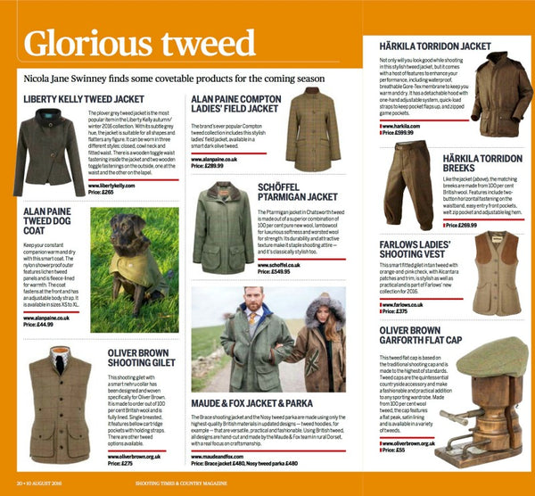 Shooting Times - Glorious Tweed