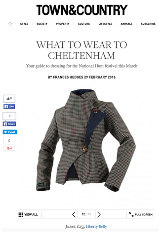 Town & Country - What to Wear to Cheltenham 2016