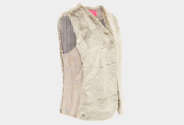 Robin Tweed and Faux Fur Gilet
