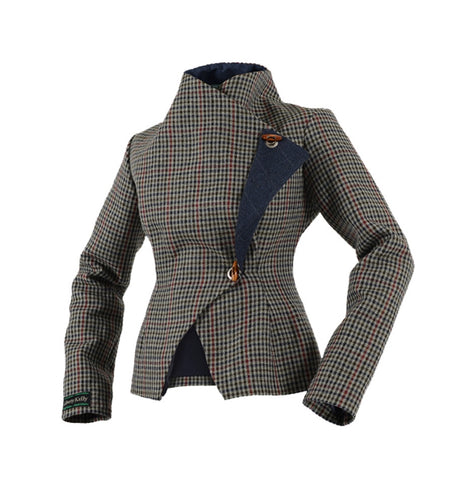 Midnight Blue Tweed Jacket