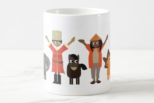 People of the world Mug