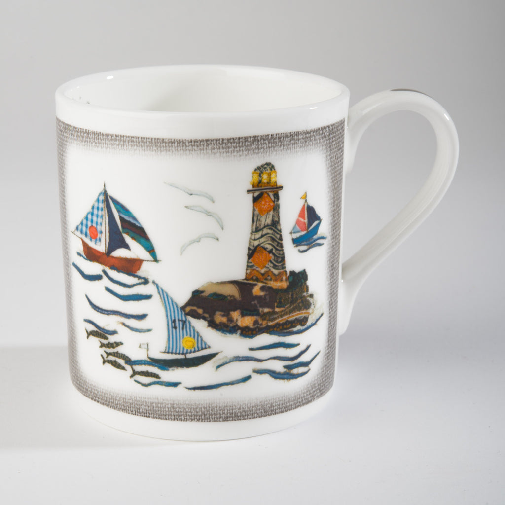 "Limited  Edition China Mug (011) by Lady Jane Gray - St Ives ""Lovers Quest"""