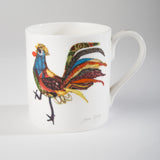 "Limited  Edition China Mug (015) by Lady Jane Gray - Humorous Chicken ""Burt"""