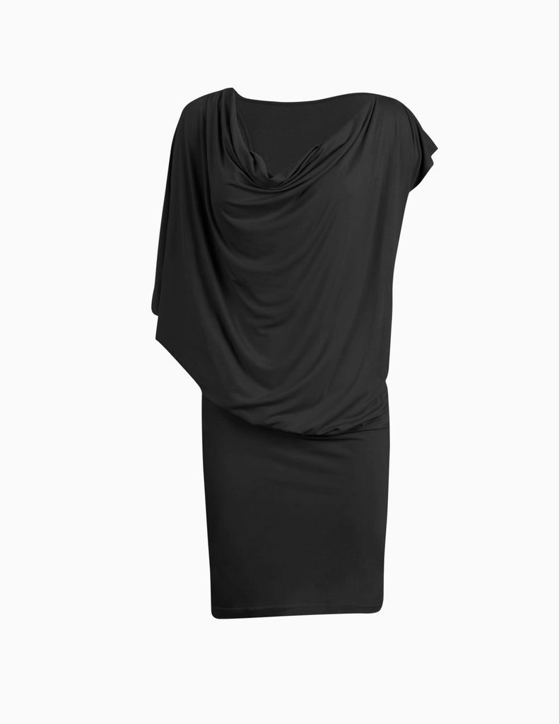 Off-shoulder Asymmetrical Dress