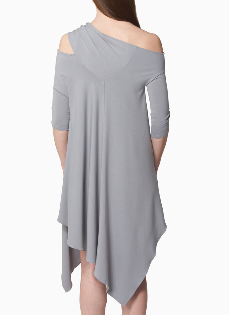 Asymmetrical Off Shoulder Dress