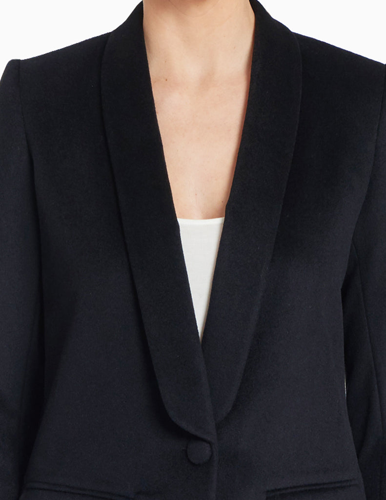 CASHMERE SMOKING JACKET
