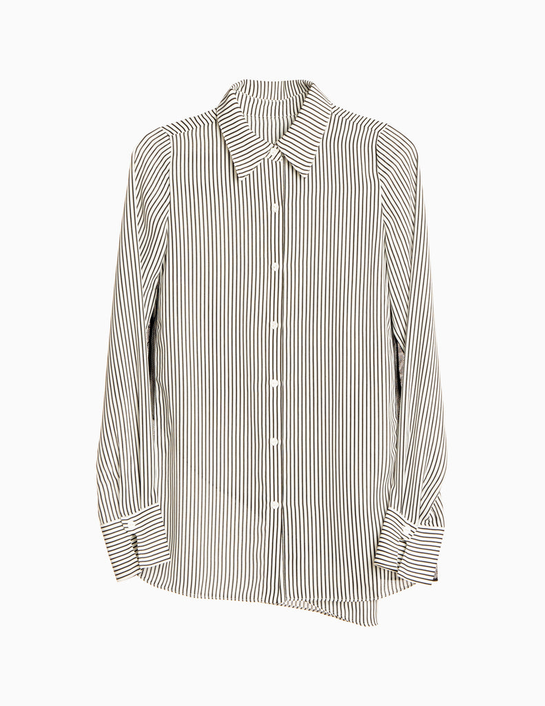 Stripe Overlay Buttondown