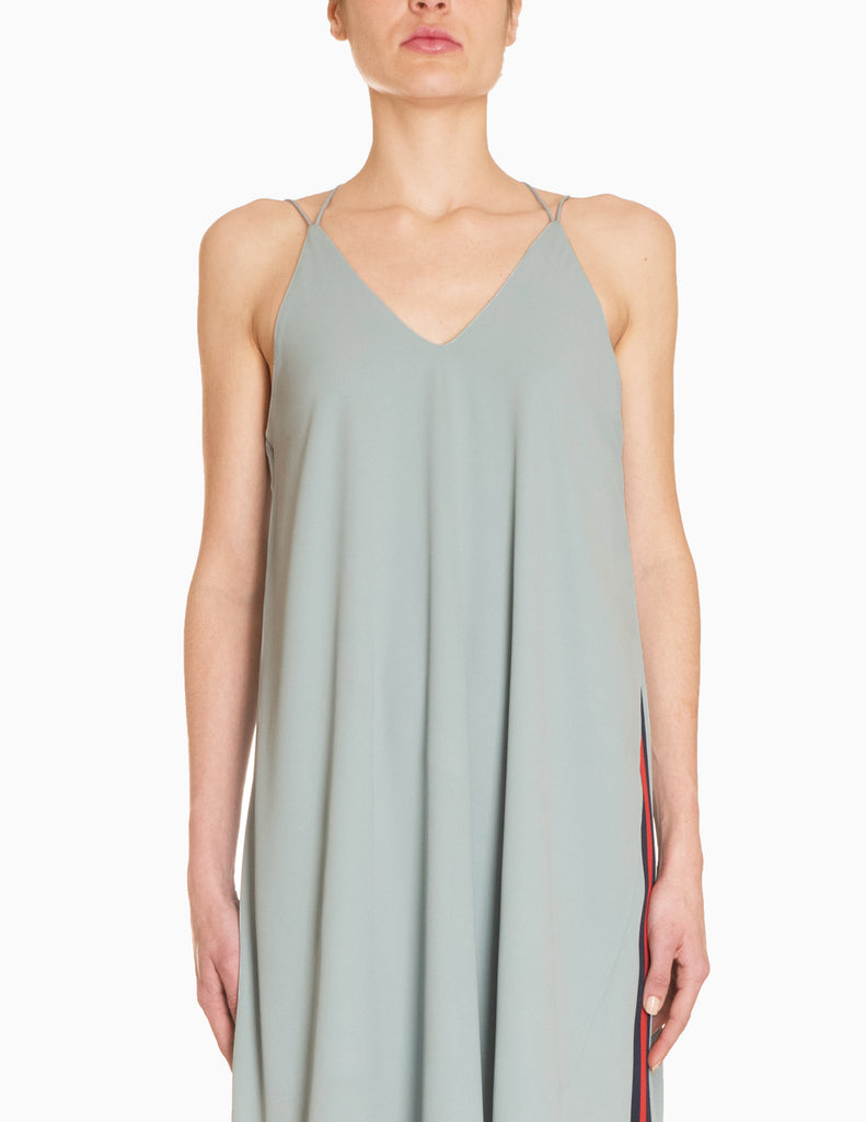 Wrap Sleeveless Dress