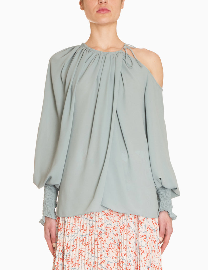 Cold Shoulder Romantic Blouse
