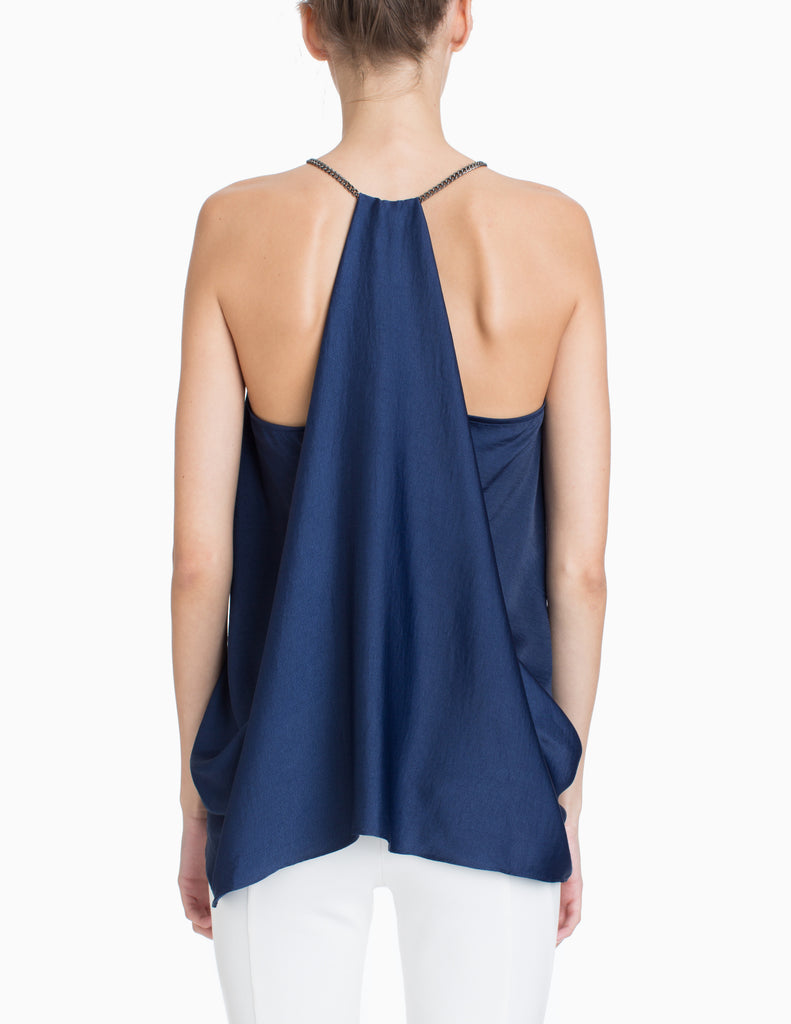 V-NECK CHAIN RACERBACK TOP
