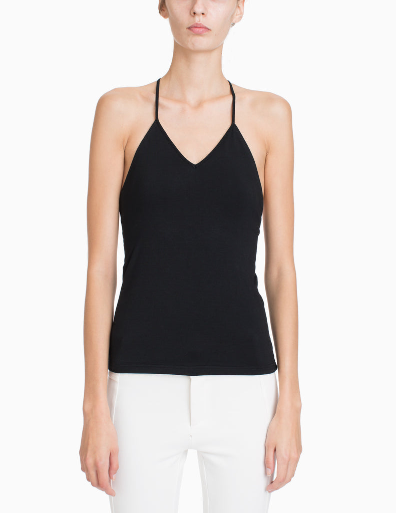 V-NECK CUTOUT CAMI