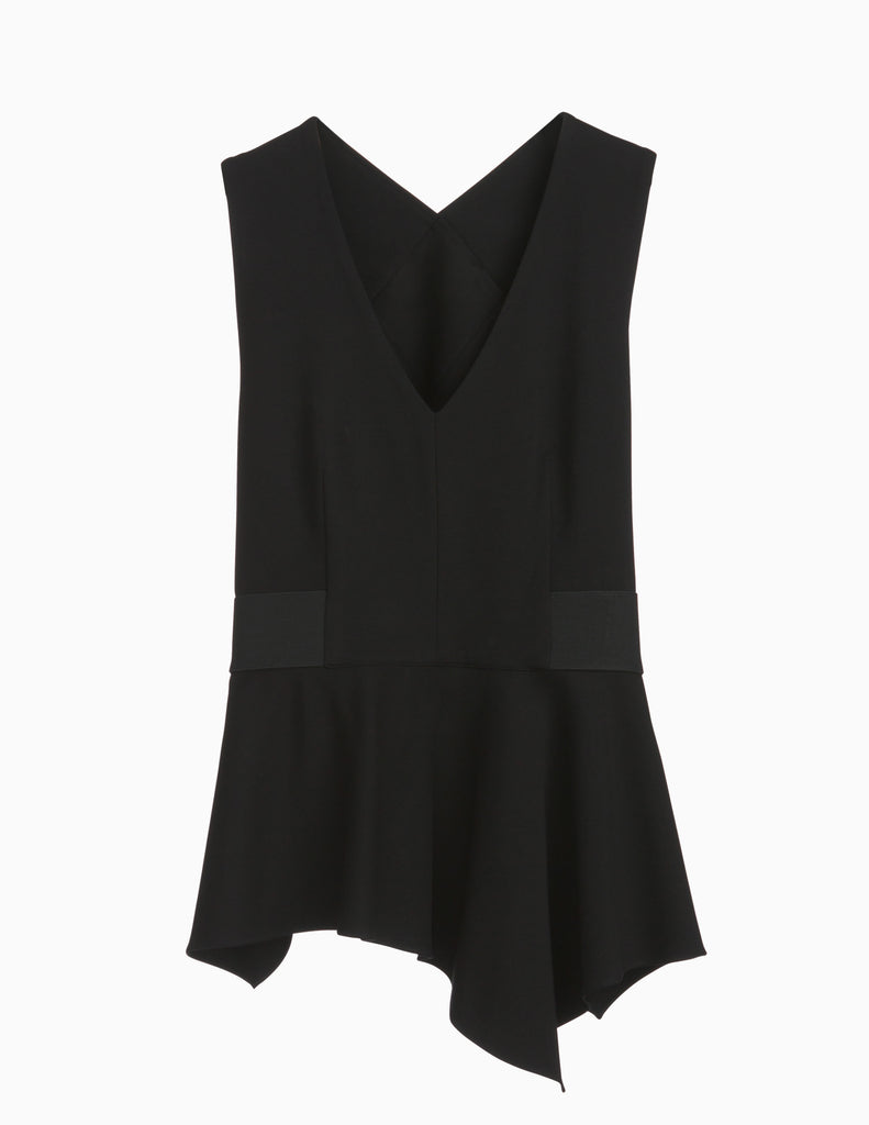 Peplum Criss Cross Top