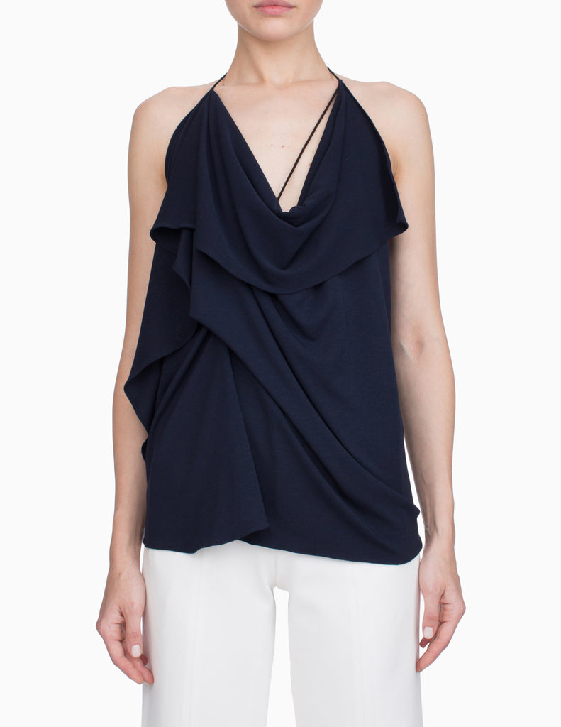 Asymmetrical Halter Top