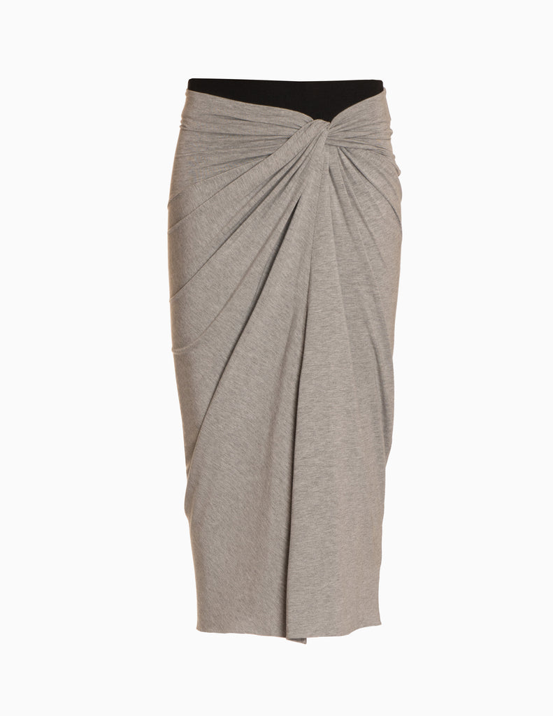 Elastic Band Twist Skirt