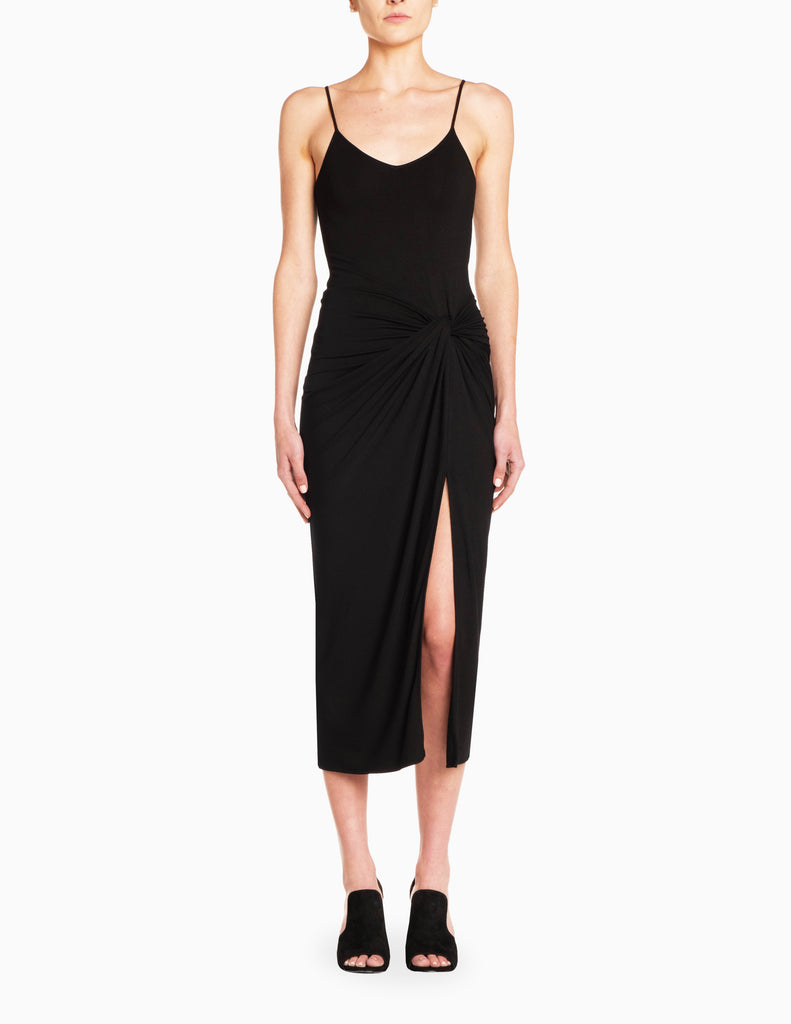 Twist Knot Slip Dress