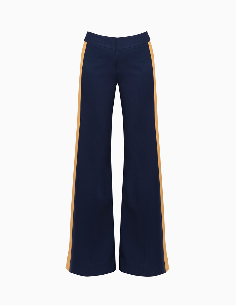 Side Stripe Wide Leg Pants