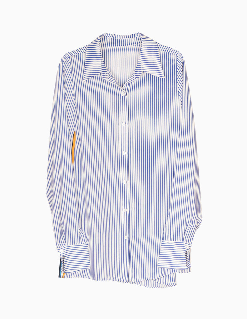 Contrast Ribbon Buttondown
