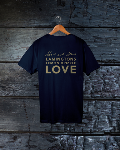 "T-Shirts ""Lamingtons, Lemon Drizzle, Love"""