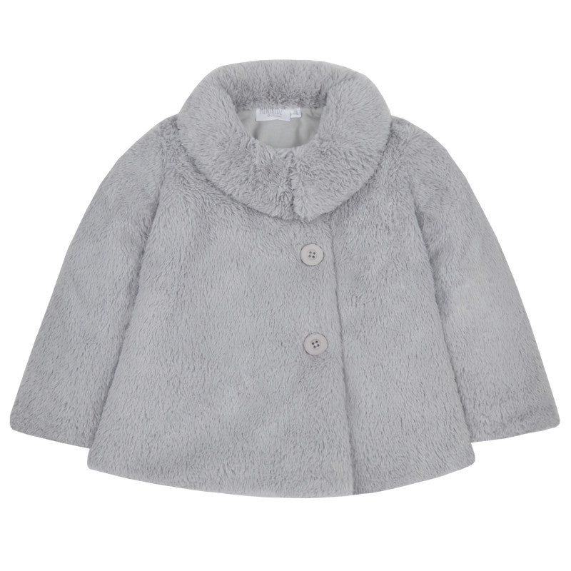 Toddler's Fun fur jacket