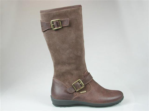 Girls Brown 'Velia' Calf Length Gore-Tex Boot
