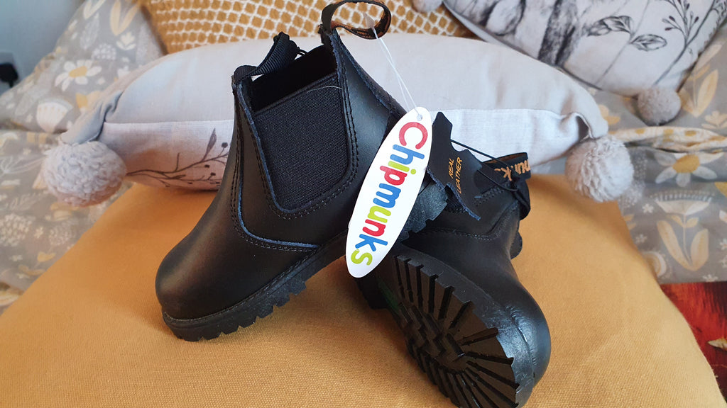 Chipmunks Black jodhpur boots