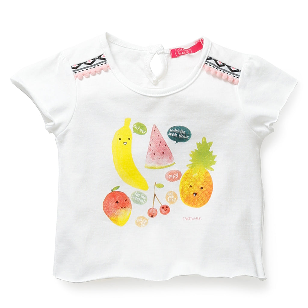 Cakewalk - Baby Girls 'Kemena' T-Shirt, 9-12m