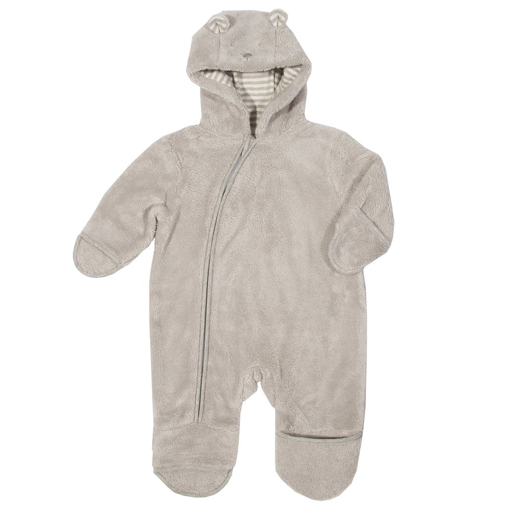 Kite - Bear Fleece Onsie - Foldback mitts and feet