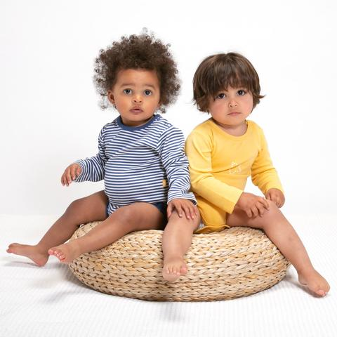 Kite - long sleeved bodysuits, 2 pack - 100% organic cotton