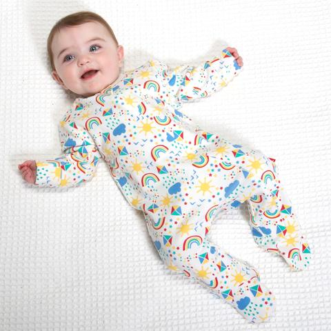 Kite - Sky High Sleepsuit - 100% organic cotton